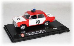 Fiat 125p  Velitelský Automobil PO Louny