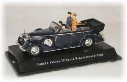 Lancia Astura IV Cabrio - Benito Mussolini a Adolf Hitler