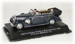 Lancia Astura IV Cabrio - král Vittorio Emanuele III