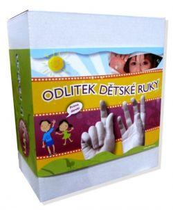 Odlitek dětské ruky - celý set