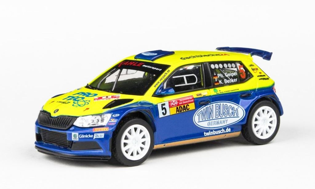 Škoda Fabia III R5 No.5 AvD Sachsen Rallye 2019 Abrex