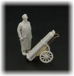 Svařeč s vozíkem