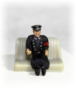 Důstojník řidič - Německo 2 světová váka