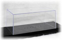 Kryt samostatný  k vitríně - průhledný