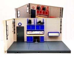 Modelová garáž - stavebnice
