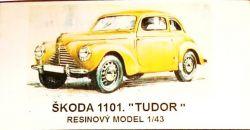 Škoda 1101 Tudor Modely od Patrona