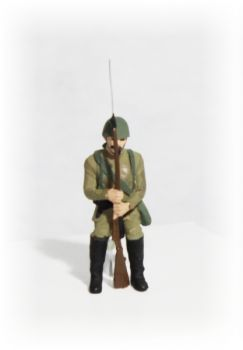 Voják s bajonetem