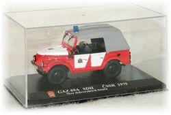 """GAZ 69A SDH - sbor dobrovolných hasičů """"1979"""" Modely od Patrona"""