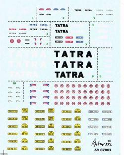 Potisky pro automobily TATRA