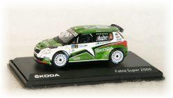 Škoda Fabia S2000 No.8  Rally Islas Canaria