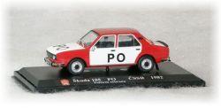 Škoda 105 S  Požární Ochrana  ČSSR
